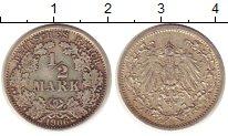 Изображение Монеты Германия 1/2 марки 1906 Серебро XF