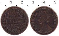 Изображение Монеты Индия 1/4 анны 1876 Медь VF