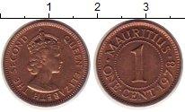 Изображение Монеты Маврикий 1 цент 1978 Медь XF