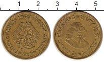 Изображение Монеты ЮАР 1/2 цента 1964 Латунь XF