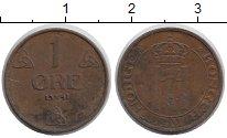 Изображение Монеты Норвегия 1 эре 1941 Медь XF Хаакон VII.