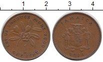 Изображение Монеты Ямайка 1 цент 1972 Медь XF