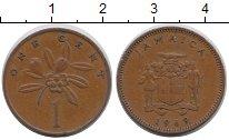 Изображение Монеты Ямайка 1 цент 1969 Медь XF