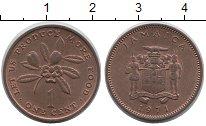 Изображение Монеты Ямайка 1 цент 1971 Медь XF