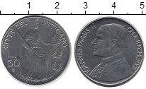 Изображение Монеты Ватикан 50 лир 1980 Медно-никель XF