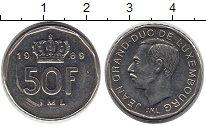 Изображение Монеты Люксембург 50 франков 1989 Медно-никель XF
