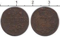 Изображение Монеты Германия Саксен-Хильдбургхаузен 1 хеллер 1763 Медь VF