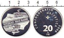 Изображение Монеты Швейцария 20 франков 2008 Серебро Proof