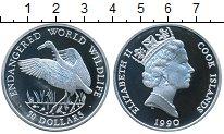 Изображение Монеты Острова Кука 50 долларов 1990 Серебро Proof- Журавль