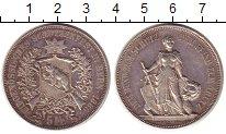 Изображение Монеты Швейцария 5 франков 1885 Серебро XF