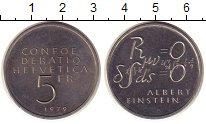 Изображение Монеты Швейцария 5 франков 1979 Медно-никель UNC-