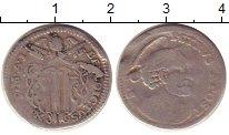 Изображение Монеты Ватикан 1 гроссо 1740 Серебро VF Бенедикт XIV