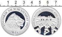 Изображение Монеты Швейцария 50 франков 1992 Серебро Proof