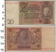 Изображение Боны Германия 20 марок 1929  XF