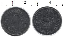 Изображение Монеты Румыния 5 лей 1942 Цинк UNC-