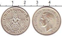 Изображение Монеты Великобритания 1 шиллинг 1944 Серебро XF Георг VI. Шотландски