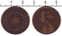 Изображение Монеты Канада Новая Скотия 1 цент 1861 Бронза VF