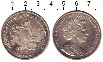 Изображение Монеты Фолклендские острова 1 крона 2007 Медно-никель UNC-