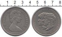 Изображение Монеты Великобритания 25 пенсов 1981 Медно-никель UNC-