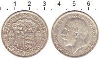 Изображение Монеты Великобритания 1/2 кроны 1932 Серебро XF