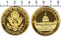 Изображение Монеты США жетон 0 Латунь UNC- Вашингтон.Капитолий