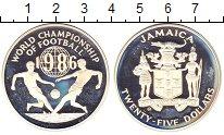 Изображение Монеты Ямайка 25 долларов 1986 Серебро Proof