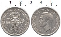 Изображение Монеты Великобритания 2 шиллинга 1946 Серебро XF Георг VI