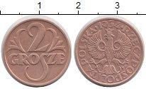 Изображение Монеты Польша 2 гроша 1934 Медь XF