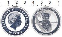 Изображение Монеты Австралия 50 центов 2015 Серебро Proof-