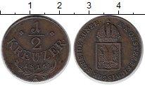 Изображение Монеты Австрия 1/2 крейцера 1816 Медь XF
