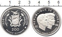 Изображение Монеты Гвинея 200 франков 1970 Серебро Proof