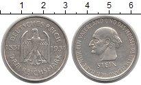 Изображение Монеты Веймарская республика 3 марки 1931 Серебро XF