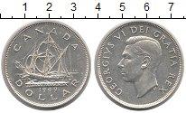 Изображение Монеты Канада 1 доллар 1949 Серебро XF+