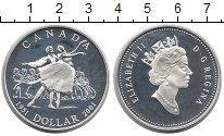 Изображение Монеты Канада 1 доллар 2001 Серебро Proof-