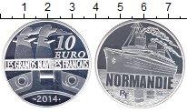 Изображение Монеты Франция 10 евро 2014 Серебро Proof