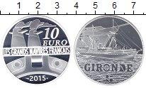 Изображение Монеты Франция 10 евро 2015 Серебро Proof