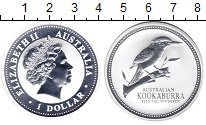 Изображение Монеты Австралия 1 доллар 2003 Серебро UNC Кукабурра