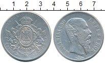 Изображение Монеты Мексика 1 песо 1867 Серебро VF Максимильян