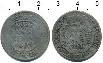 Изображение Монеты Саксония 1/12 талера 1694 Серебро VF