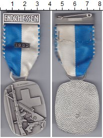 Изображение Монеты Швейцария Стрелковый фестиваль 1982 Медно-никель UNC- Стрелковое оружие