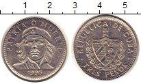 Изображение Монеты Куба 3 песо 1995 Медно-никель XF