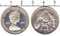 Изображение Монеты Виргинские острова 25 центов 1978 Серебро Proof-