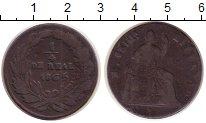 Изображение Монеты Мексика 1/4 реала 1865 Медь VF