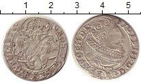 Изображение Монеты Польша 6 грошей 1626 Серебро VF