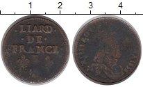 Изображение Монеты Франция 1 лиард 1656 Медь F Людовик XIV