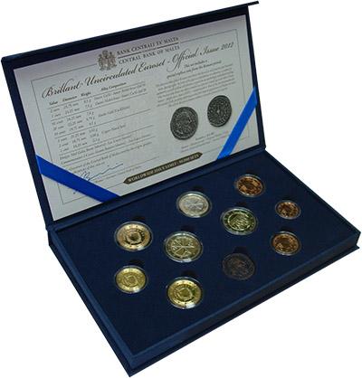 Изображение Подарочные наборы Мальта Набор 2012 года 2012  BUNC