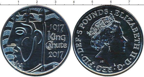 Картинка Подарочные монеты Великобритания Король Кнуд I Медно-никель 2017