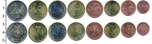 Изображение Наборы монет Ирландия Ирландия 2006 2006  UNC- В наборе 8 монет ном