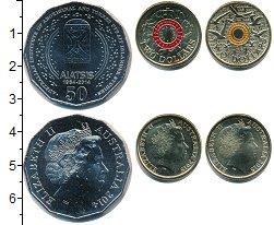 Изображение Наборы монет Австралия Австралия 2014-2015 2014 Медно-никель UNC