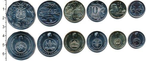 Изображение Наборы монет Австралия Австралия 2016 2016 Медно-никель UNC